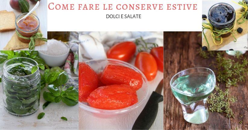 Conserve estive fatte in casa ricette facili e sicure for Cose fatte in casa
