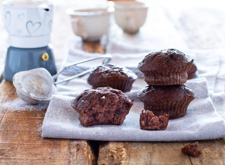 Muffin proteici cacao e banana