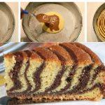torta zebrata senza burro fb