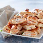 Salatini veloci al salmone