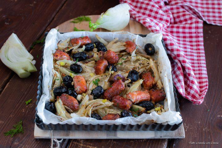 Salsicce con finocchi