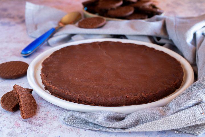 Base cheesecake al cacao
