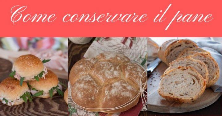 Come conservare il pane e come congelare il pane jpg