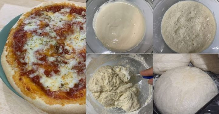 impastop er pizza con poolish fb