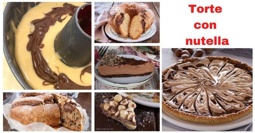 Torta con nutella fb