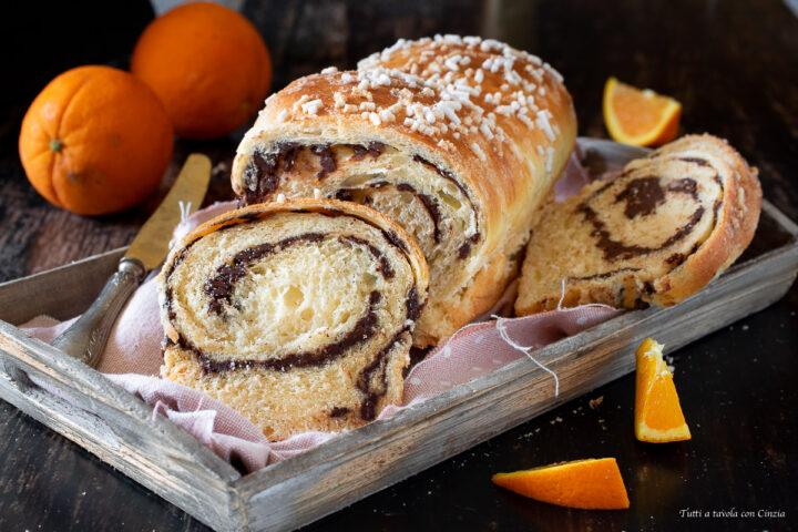 Pan brioche sofficissimo al cioccolato