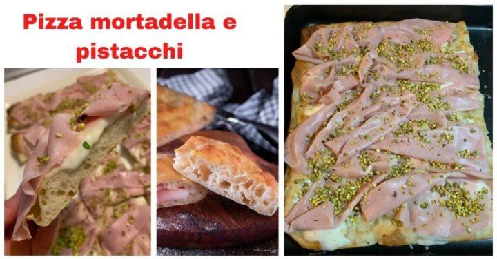 pizza mortadella e pistacchi fb