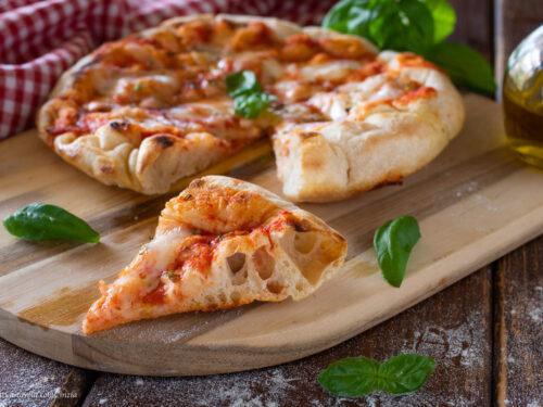 Pizza cotta in padella