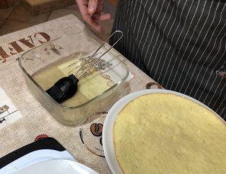 pan di spagna inzuppato