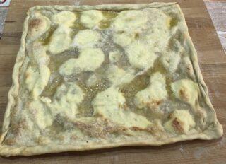 focaccia ligure al formaggio