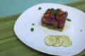 Tartare di tonno con avocado al profumo di lime menta e melissa