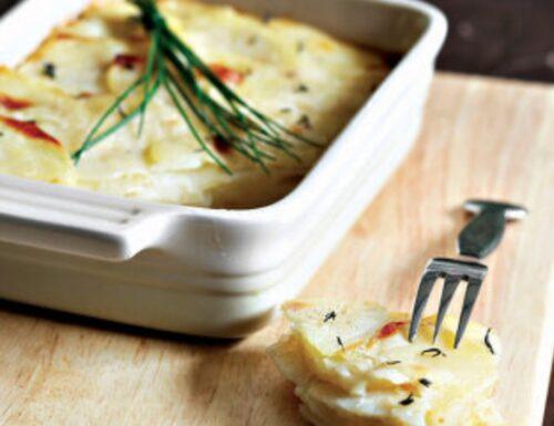 Tortino di patate gratinato al parmareggio