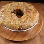 Ciambella rustica con radicchio e cipolle di tropea