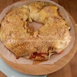 ciambella rustica con peperoni