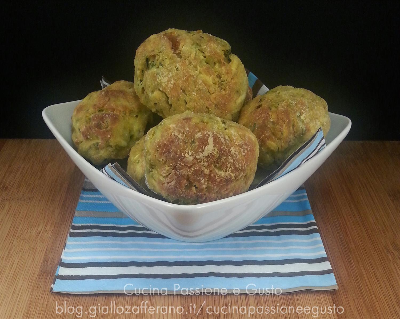 Polpette di zucchine alla greca