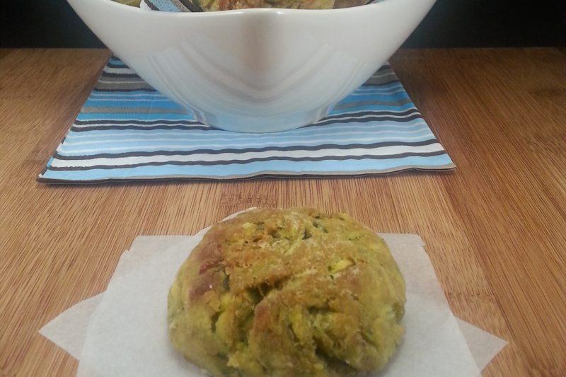 Polpette di zucchine e ricotta salata