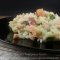 Risotto al mascarpone con salmone e zucchine