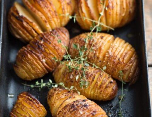 Patate Hasselback, ricetta svedese