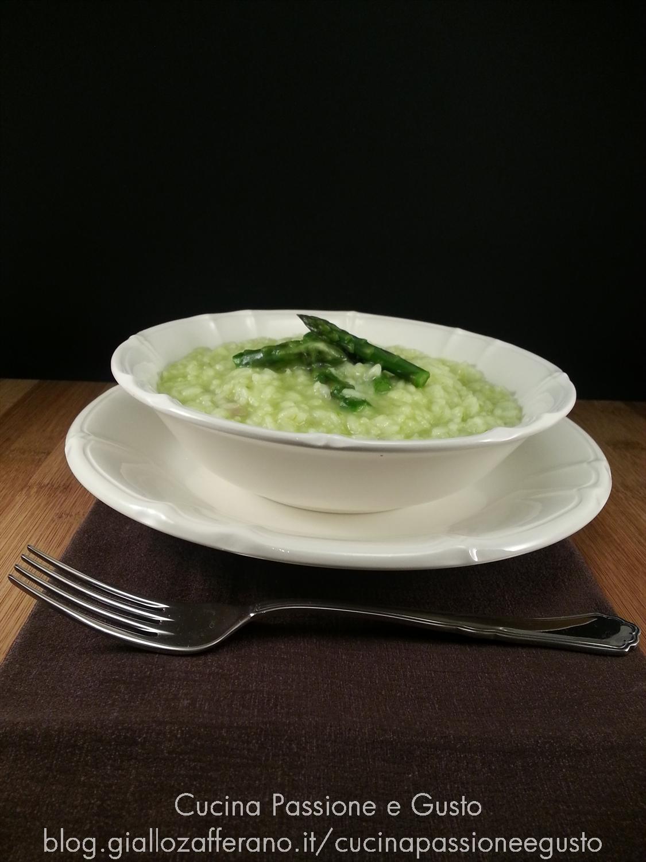 Risotto in crema di asparagi