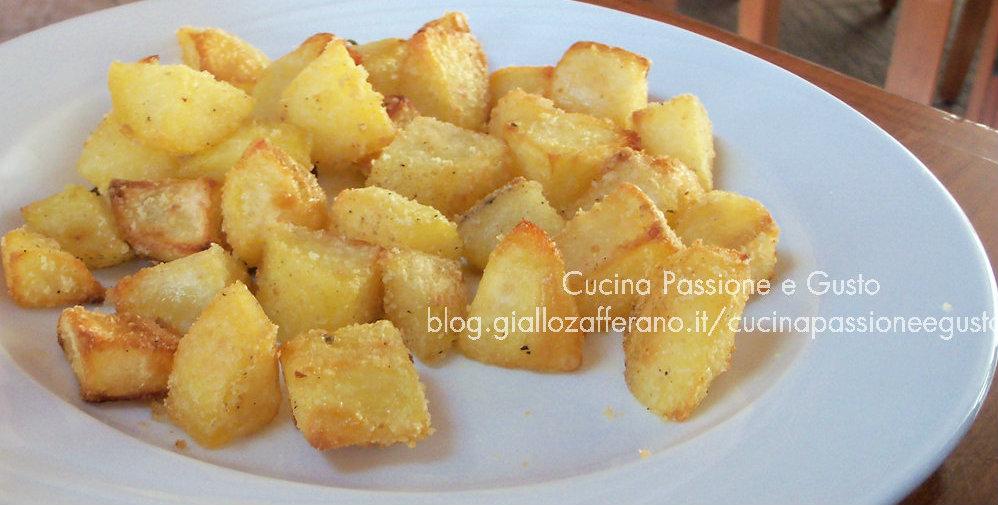 Patate sabbiose cotte in padella