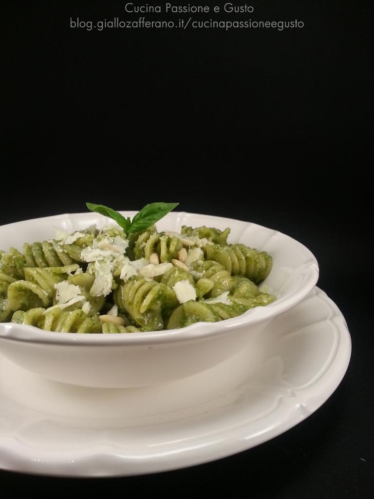 Pasta zucchine e feta