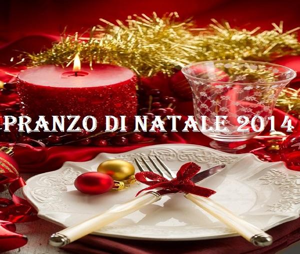 Pranzo di Natale 2014 Menu a base di Carne