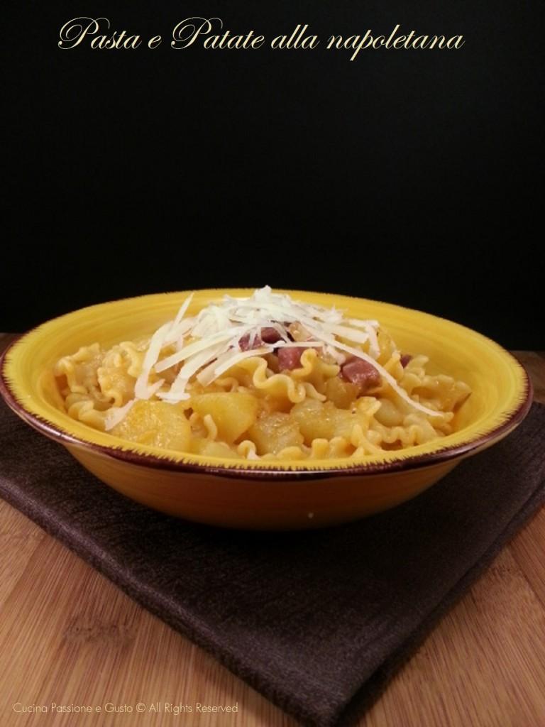 Pasta e patate alla napoletana