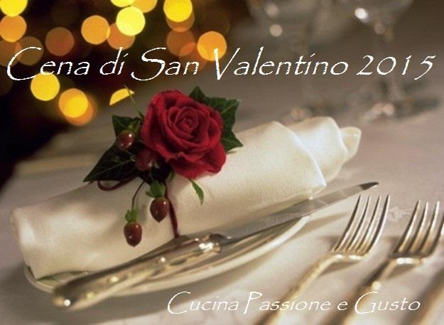 MENU SAN VALENTINO 2015 RICETTE DI PESCE
