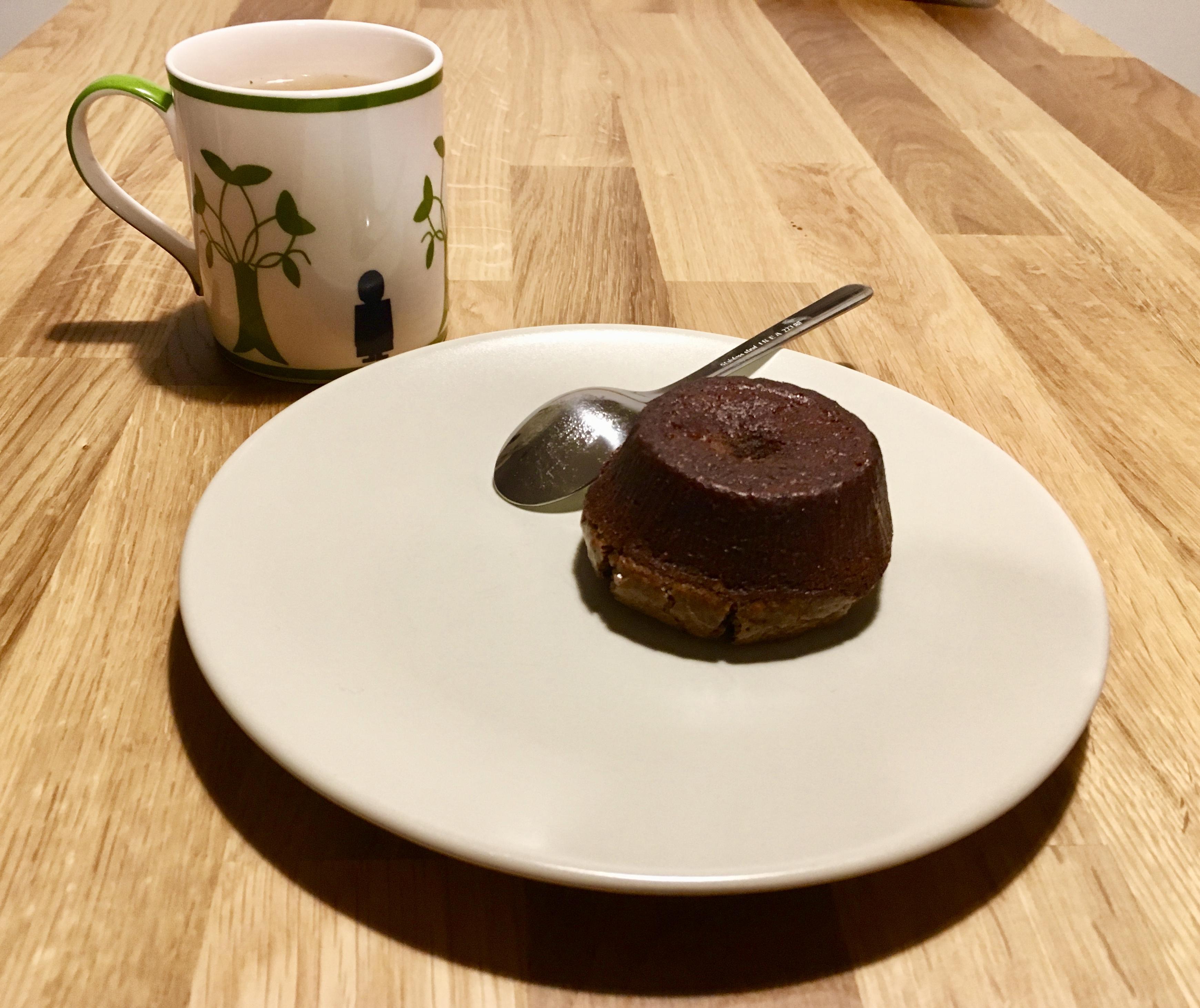 Tortino al cioccolato dal cuore fondente
