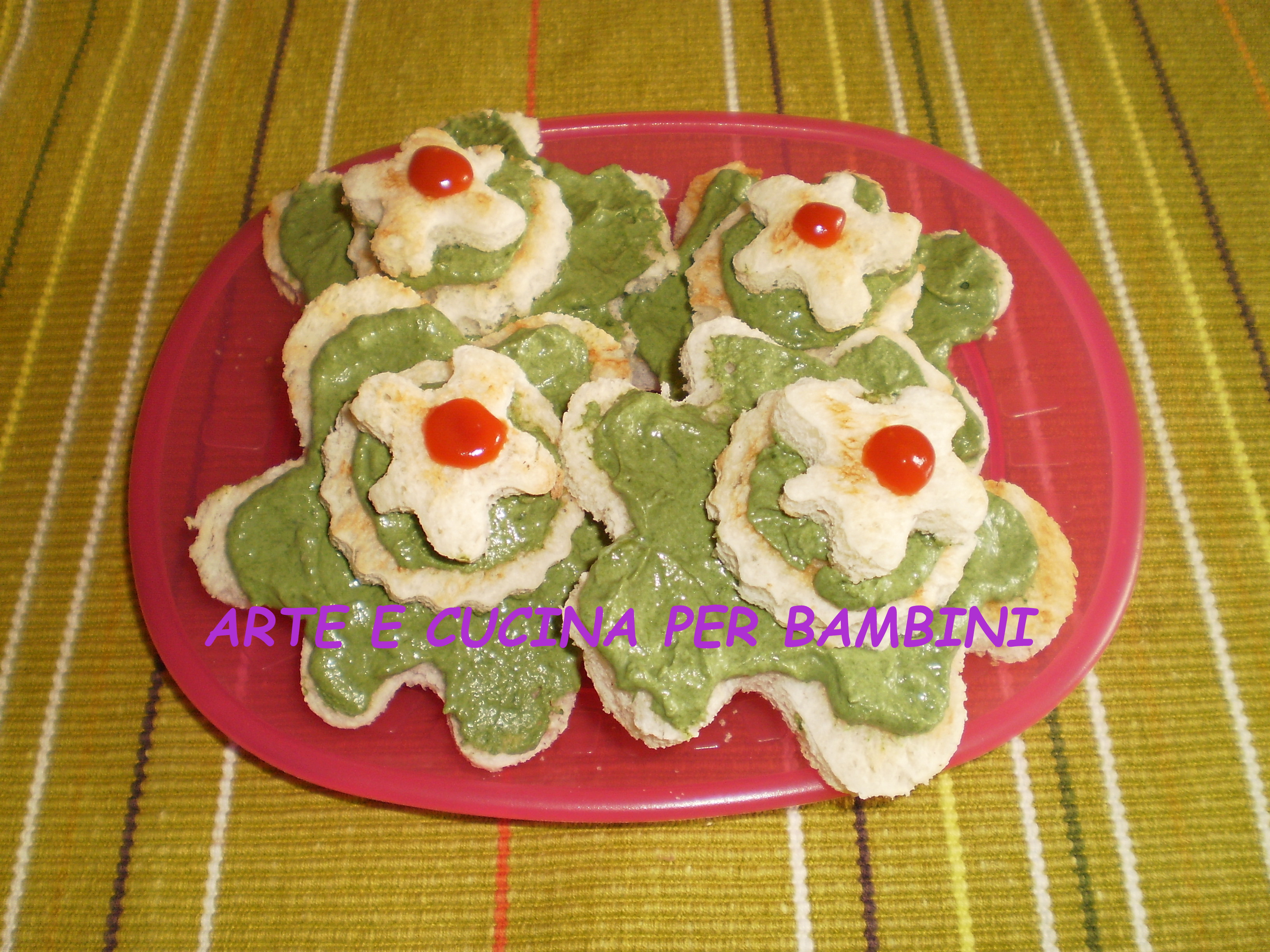 Zucchine in fiore arte e cucina per bambini for Cucina per bambini