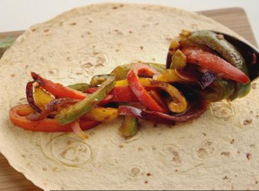 Fajitas con verdure grigliate - ricetta messicana