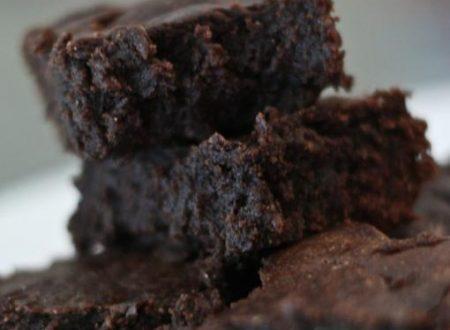 Brownies al gusto di caffe