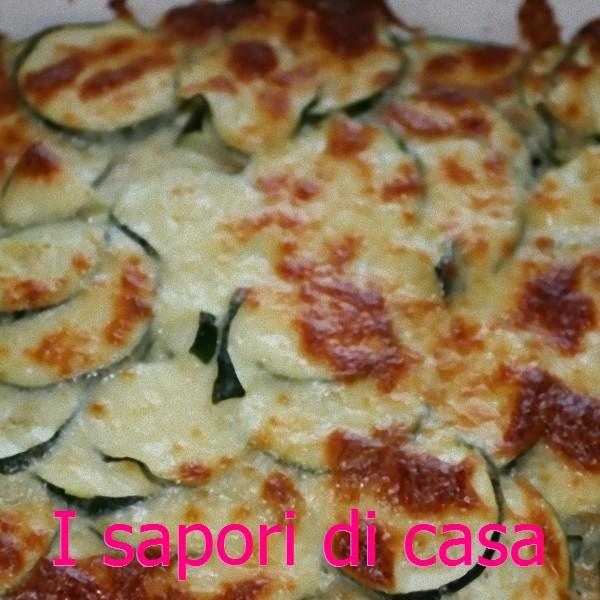 Lasagna con zucchine ai 4 formaggi