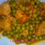 Spezzatino con piselli e polenta – secondo piatto facile