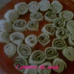 Antipasto di rotolini di pancarrè farciti -ricette di Natale