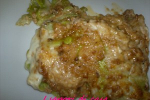 Lasagna al forno con ragu