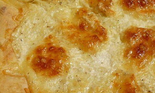Torta salata allo scquaquerone e prosciutto cotto