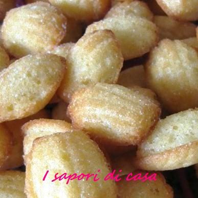 Ricetta madeleine