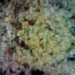 Risotto ai funghi pioppini e taleggio – primi piatti autunnali