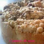 Torta sbriciolata ricotta e cioccolato – ricetta dolce