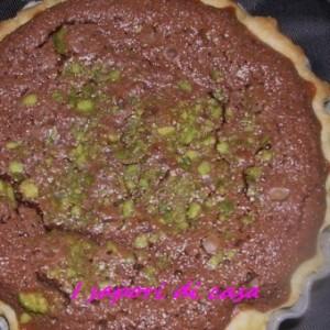 Crostata cioccolato e pistacchi