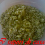 Risotto con broccoli siciliani e Asiago