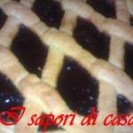 Crostata con marmellata di mirtilli