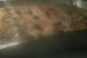 Pizza fatta in casa con impasto di Bonci