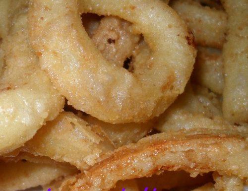 Calamari fritti  croccanti – ricetta di pesce