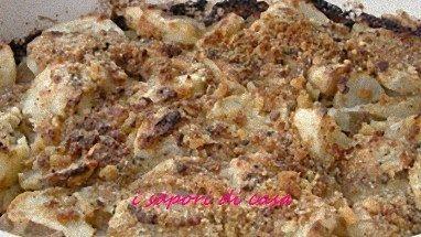 Carciofi croccanti gratinati al forno