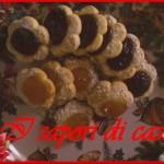 Biscotti alla marmellata di ciliegie e albicocca