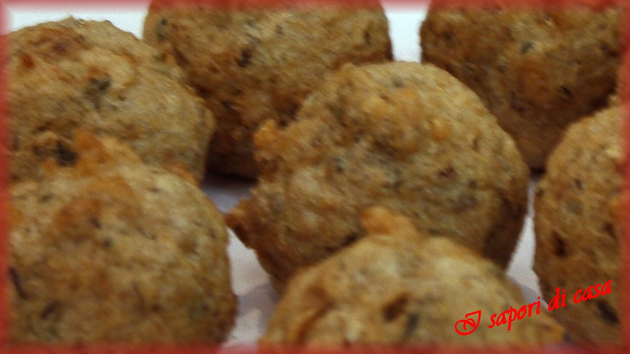 Polpettine alle verdure | ricetta vegetariana