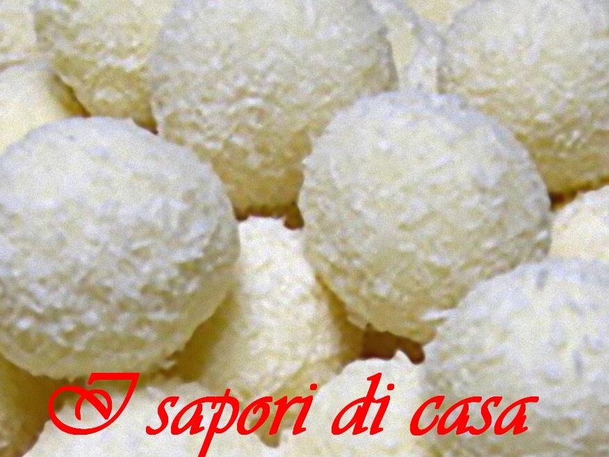 Ricetta Raffaello Wafer.Raffaello Fatti In Casa Ricetta Dolce