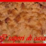 Torta salata con cavolfiori speck e formaggio